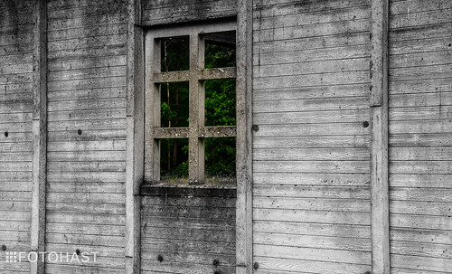 Een herinnering aan de voormalige barakken