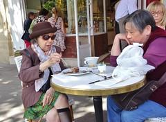 2015-06-07   Paris - Dalloyau - 2 Place Edmond Rostand (P.K. - Paris) Tags: street people paris café june french juin terrace candid terrasse sidewalk 2015