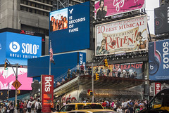 more times sq hell (Visual Thinking (by Terry McKenna)) Tags: nyc urban landscape nj center midtown rockefeller