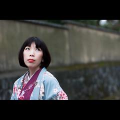 (Masahiro Makino) Tags: woman japan photoshop canon eos kyoto adobe  kimono tamron 90mm f28 lightroom 40d 20080205134802canoneos40dls640p