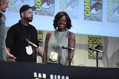David Ayer & Viola Davis (Gage Skidmore) Tags: california david adam beach san comic jay joel cara suicide diego smith center karen will convention margot squad davis robbie viola con hernandez ayer 2015 fukuhara adewale kinnaman akinnuoye agbaje delevingne
