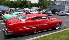 1951 Merc 'Wanderer' (bballchico) Tags: mercury custom fatboy wanderer 1951 merc kustom rebelwithoutacause customcarshow customcarrevival hermancaudle dianecaudle