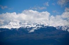 Snow Capped Mountains (faungg's photos) Tags: travel usa nature clouds landscape us colorado roadtrip co 旅游 风景 自然 雪山 snowcappedmountains 美国 自驾游 科罗拉多州 fourcornersstates