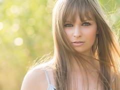 Mariella (ecker) Tags: light woman face backlight hair linz licht gesicht wind bokeh outdoor naturallight frau gegenlicht haar mariella avaliablelight unschrfe umgebungslicht gesichtsportrait