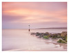 Sandbanks at Dawn. (Emily_Endean_Photography) Tags: sandbanks sunrise dawn poole nikon longexposure leefilters pinks rocks coast beach clouds seascape sea seaside