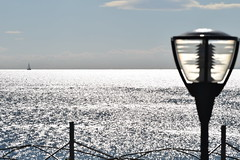 Staring At Infinity (Kotsikonas Elias) Tags: sea water beach athens greece nikon d3300 ocean outdoor spotlight staring infinity