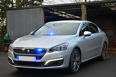Unmarked Peugeot 508 (S11 AUN) Tags: north yorkshire police peugeot 508 hdi unmarked advanced pursuit driver training tpac video equipped anpr traffic car advanceddrivertraining driving school hq newbywiske rpu roads policing unit nyp rpg group 999 emergency vehicle