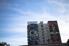 Obey (McrossEsFeliz) Tags: obey grafitty colegio malaga cac building sky