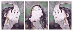 Shhh... (Vanessa Vox) Tags: shhh collage selfie selfportrait vanessavox triptychs