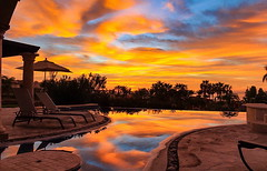 Cabo sunset (ArmyJacket) Tags: cabosanlucas cabo mexico baja pool reflection pacific resort vacation travel