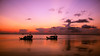 Sunset Tow (Bill McBride Photography) Tags: sunset lake lakewashington fl florida autumn september 2016 water clouds boat airboat melbourne canon eos 70d efs18135stm silhouette