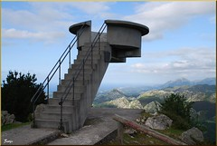 Mirador de El Fito (Asturias, España, 30-6-2011) (Juanje Orío) Tags: asturias 2011 españa spain naturaleza escalera europeanunion europa europe arquitectura
