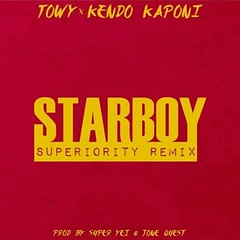 Towy Ft. Kendo Kaponi – StarBoy (Superiority Remix) (http://www.labluestar.com) Tags: ft kaponi kendo remix starboy superiority towy