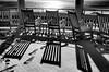 Winter Shadows (WilliamND4) Tags: shadows d810 nikon blackandwhite snow chairs ocean