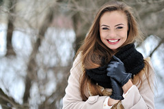 Beautiful woman face (MezaSandra) Tags: beautiful girl female face beauty young model woman portrait skin hair care white cute attractive makeup happy person fashion eyes fresh look one adult glamour caucasian closeup pretty bright clean blue health nature smiling head perfect happiness lovely natural lips posing outdoors engaging alluring handsome russian winter cold belarus
