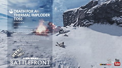 Star Wars Battlefront 02 (Harry Hates Golf) Tags: mortradio harryhatesgolf starwars starwarsbattlefront xboxone ps4 pc game games videogames gameplay rage outpostbeta lukeskywalker darthvadar hanssolo rebel rebelalliance thermalimploder imperialsoldier soldier war headshot explosion