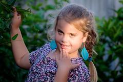 Ray of Light (Shane_Henderson) Tags: australia bonbeach fujifilmxe2 fujinonlensxf55200mmf3548rlmois fujifilm garden melbourne victoria xseries backyard child naturallight portrait