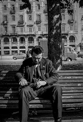 Milano - 1972 (giorgio-pix) Tags: analogico minoltasrt101 film35mm street