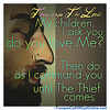 Walk in The Lord, Establishing Your Love by Faith and Obedience - Letters From God and His Christ (GraceHead) Tags: trumpetcallofgodonlinecom trumpetcallofgod scripture christian yahushua endtimes