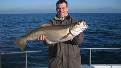 """Ben Male with a personal best Pollack of 15lbs 6ozs • <a style=""""font-size:0.8em;"""" href=""""http://www.flickr.com/photos/113772263@N05/32347486592/"""" target=""""_blank"""">View on Flickr</a>"""