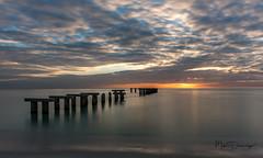 Old Pier (mikedemmingsphoto.com) Tags: florida landscape pier seascape bocagrande usa gasparillaislandstatepark gasparilla nikond750 nikon sunset outdoors outside