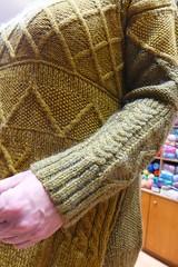 Μαλλιά Σακαλάκ (sifis) Tags: knitting knit μαλλιά σακαλάκ πλέκω νήματα πλεκτό αθήνα greece athens handknitting wool yarn sweater pullover βελόνεσ