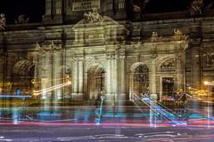 Puerta de Alcalá (BryantBA) Tags: madrid comunidaddemadrid spain es nightscape nightphotography noche medianoche midnight mymadrid longexposure