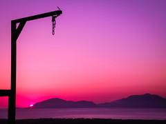 Something Is Missing (Tassos Gi.) Tags: kos greece nature sunset purple landscape island sea sun