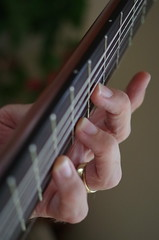 Alt-fingering (Occasionally Focused) Tags: guitar classical lagrima music pentax justpentax k30 smcpdal35mmf24al singleinfebruary2017 fingers strings