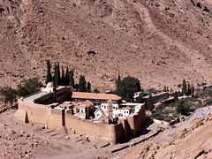 St. Katherine's Monastery, from a little higher up (phool 4  XC) Tags: ancient egypt christian monastery orthodox orthodoxchristian oldcity sinai  stkatherines 6thcentury  phool4xc