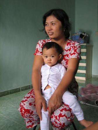 Minh- my sister and her daughter