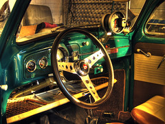 dashboard (Andreas Reinhold) Tags: sun green window vw backlight bug volkswagen interestingness soft mine bright interior seat garage low beetle smooth engine bestviewedlarge sunny explore seats oil motor dashboard whatsinyourbag whatsinmybag callook hdr steeringwheel shifter gauges 1964 kfer tach softlight softly aircooled type1 dfl werkstatt photomatix autometer typ1 whatsinmycar whatsinyourcar javagreen javagrn