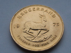 Krugerrand (oliworx) Tags: topv111 gold coin topv333 topv222 1975 topv50 topv100 topv200 krugerrand bullion topv1000 topv300 topv400 ccby oliworx krgerrand