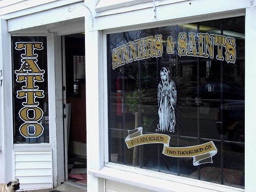 Sinners & Saints Tattoo Shop