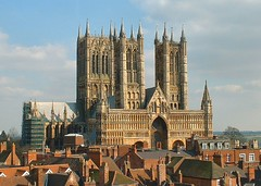 Lincoln Cathedral (Lincolnian (Brian)) Tags: england beautiful topv111 architecture 1025fav wow cathedral 100v10f lincolnshire lincoln splendid abigfave abigfav impressedbeauty