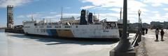 Nindawayma ship panorama (Humanoide) Tags: autostitch panorama canada boat ship montréal quebec montreal québec bateau flickrmeet navire kakadoo manxviking nindawayma