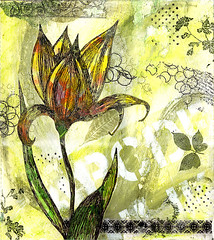 simple bliss (Kelly Angard) Tags: collage kellya mixedmediaart kellyangard thecraftygirl kellyafineartphotography