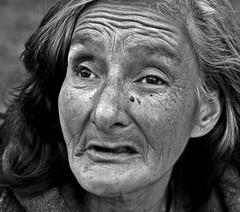 institutionalized (stoneth) Tags: sf sanfrancisco california ca street portrait people blackandwhite bw 15fav woman white black eye beautiful face topv111 closeup female 1025fav 510fav blackwhite eyes topv333 nikon day d70 nikond70 homeless photojournalism forsakenpeople social impoverished 2006 1870mmf3545g human grayscale nikkor 110fav streetshot 125fav sfcivic
