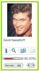myHeritage thinks my baby picture looks like David Hasselhoff