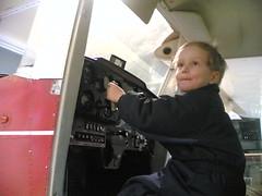 Cessnan ohjaimissa