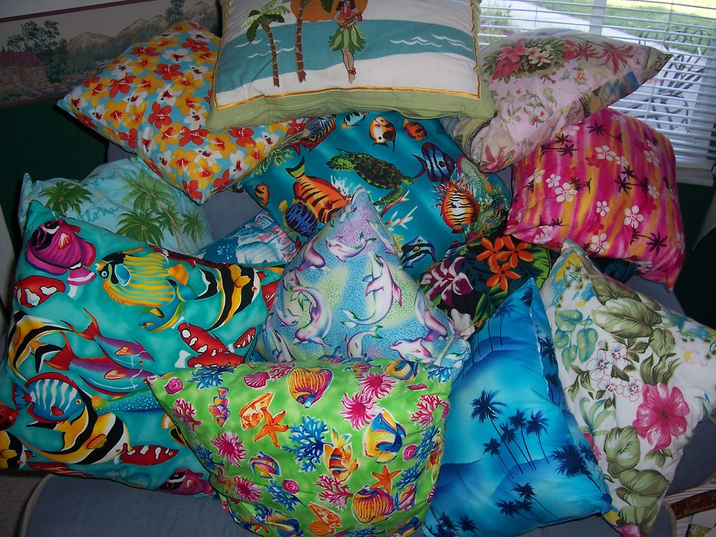 Tropical Pillows...