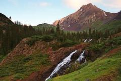 Yankee Boy Basin 3 (Hoot1) Tags: mountains landscape ilovenature rockies waterfall colorado velvia sanjuanmountains mtsneffles specnature