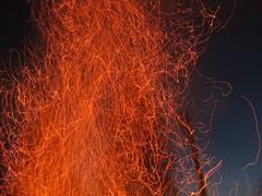 Flow (m.sobota) Tags: longexposure orange night flow fire fave bonfire ash ember onblack i500 cotcmostfavorites explore040906