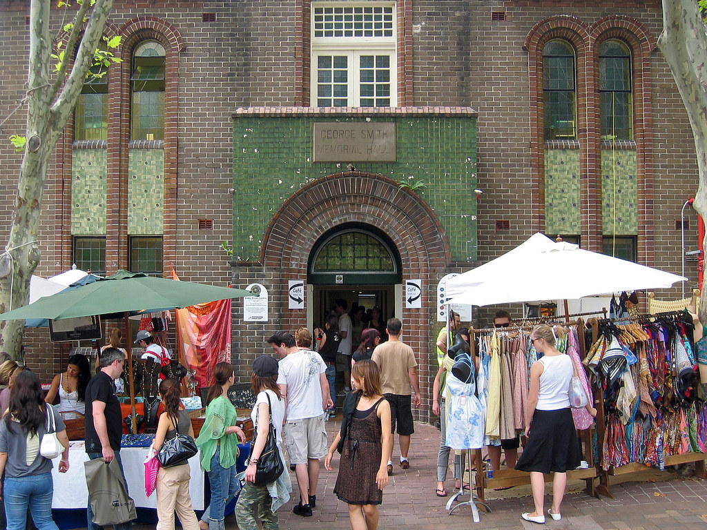 Paddington markets by Nelson Minar, on Flickr