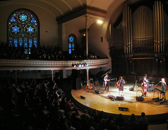 Sarah Harmer at Alix Goolden Hall (striatic) Tags: portrait panorama canada sarah night landscape hall photo concert bc britishcolumbia group pipes livemusic performance indoor stainedglass unfound 2006 victoria panoramic organ stitched harmer sarahharmer vcm victoriaconservatoryofmusic alixgooldenhall alixgooldenperformancehall mygoodimages
