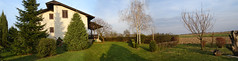 Cottage (Tomislav Plavcic) Tags: panorama green nature cottage croatia panoramic photomerge priroda merge hrvatska djakovo kuca akovo dakovo pisak zelena eksterijer vikendica