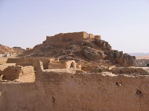 غات في قلب الصحراء الليبيه