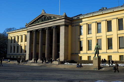 Oslo Universitet by Martin Hapl, on Flickr