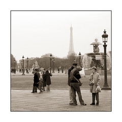 *hmmm*... and where is this eiffel-tower? (elfis gallery) Tags: street bridge people blackandwhite bw white black paris france monochrome publicspace french grey perfect place outdoor 5 eiffeltower streetphotography concorde schwarzweiss weiss schwarz placedelaconcorde inpublic 5favs scharzweiss graustufen schwarzundweiss bilderfantasien decicivemoment peopleoutdoor todolist1 todolist2