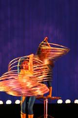 Slinky women (Piero Sierra) Tags: china blue portrait people shanghai twist hoolahoop acrobat slinky hoola